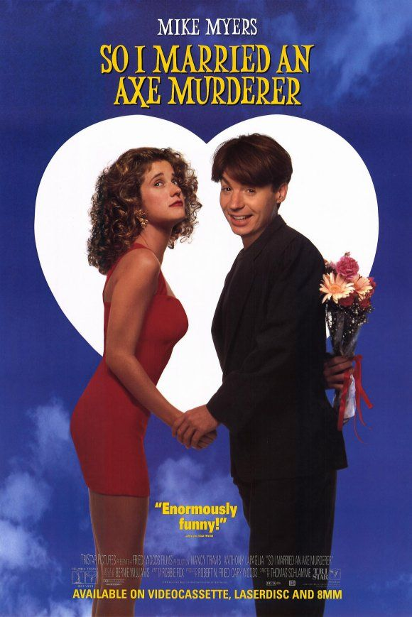 So I Married an Axe Murderer (1993)  -One of my favorite comedies of all time. Shot in North Beach, Telegraph Hill, Pacific Heights and Marin.