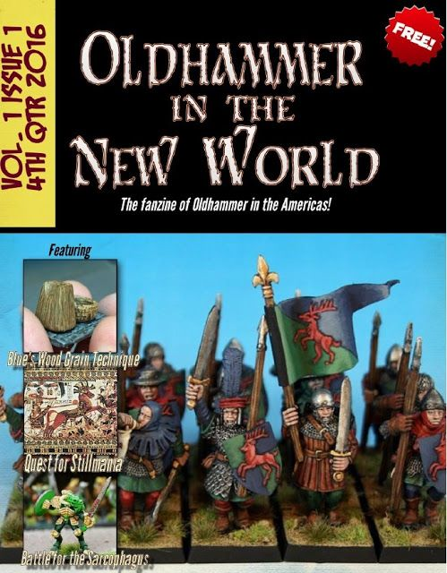 Hey #oldhammer fans! Sean has released Issue 1 of his new emag: Oldhammer in the New World  (and its free!)