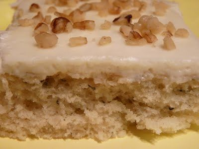 Banana Sheet Cake - made for a family gathering - so good, so easy and feeds a crowd! Will definitely add to my 'favorites' collection!