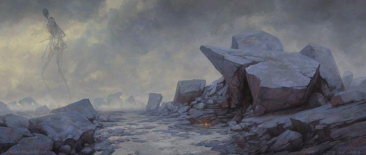The Last Whisper, by Noah Bradley, http://thesinofman.com/