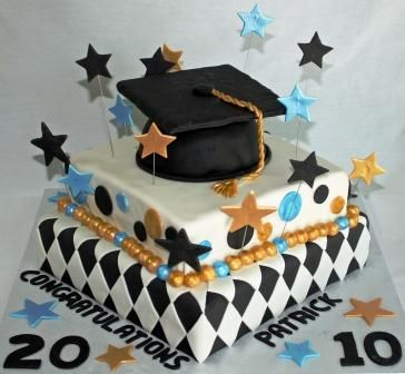 Graduation Party Suggestions | Graduation Party Cake and Cupcake Decorating Ideas
