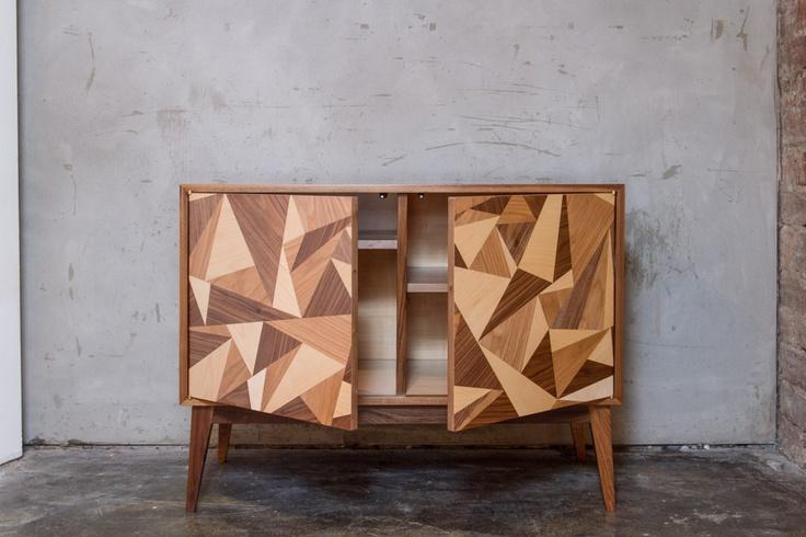 Cubist Credenza 76 Turner Furniture Holding Corp
