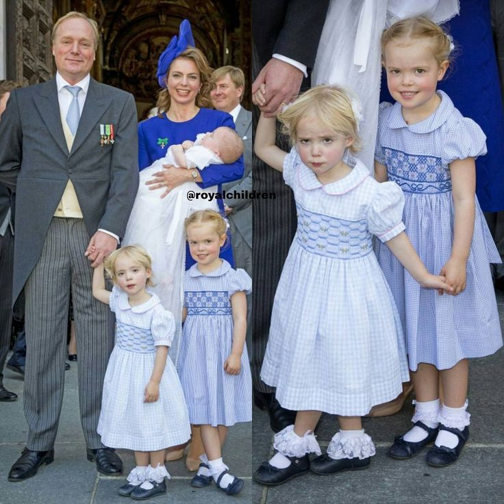 Prince Carlos and Princess Annemarie of Bourbon-Parma and their  three children Luisa, Cecilia and Carlos💙👑       Prince Carlos is the son of the late Carlos Hugo, Duke of Parma  and Princess Irene of the Netherlands (sister of Princess Beatrix  of the Netherlands), he's King Willem-Alexander's cousin and  he's the current head of the Royal and Ducal House of Bourbon-Parma  and member of the Dutch Royal Family👑