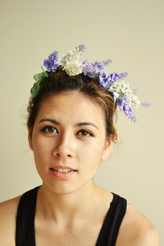 "$15.00 FREE SHIPPING IN NZ!  ""Lady Lavender"" Flower Headpiece, Josie Smith Couture.  This ladylike, lilac, lavender headpiece will make any outfit look delicate and well thought out.  Hand crafted and one of a kind.  Go to www.frontrowfashionz.co.nz to purchase!"