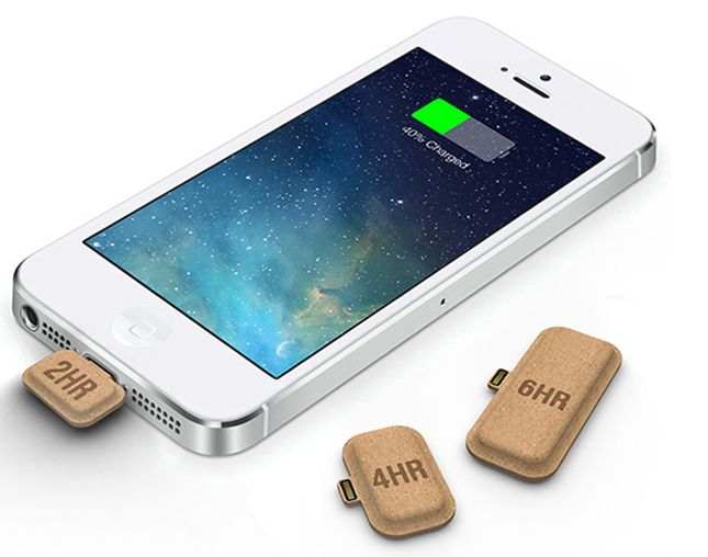 These Tiny Batteries Are the Most Portable Phone Chargers Yet.