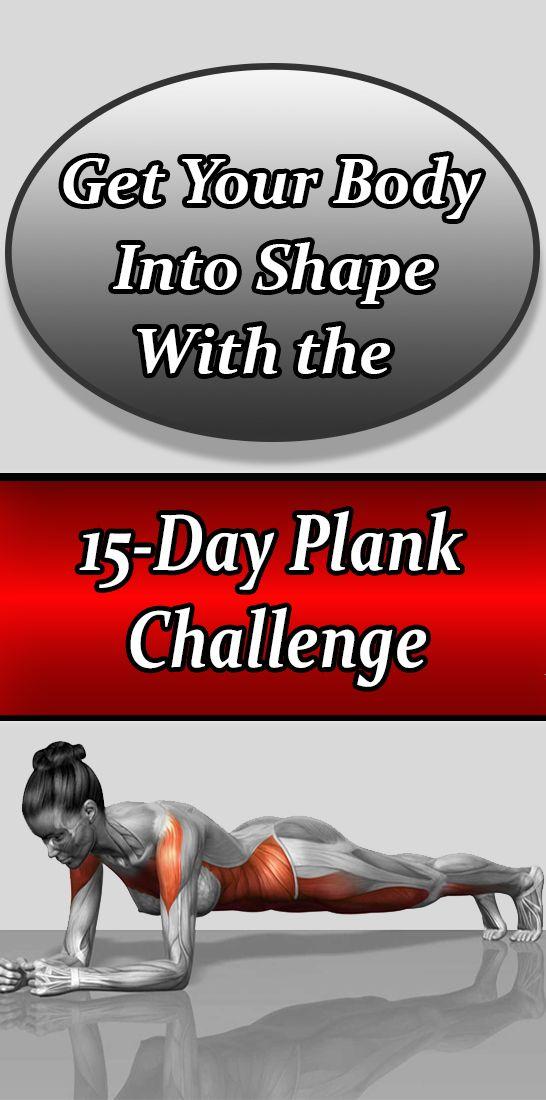Bringen Sie Ihren Körper mit der 15-tägigen Plank Challenge in Form   – Fitness Goal