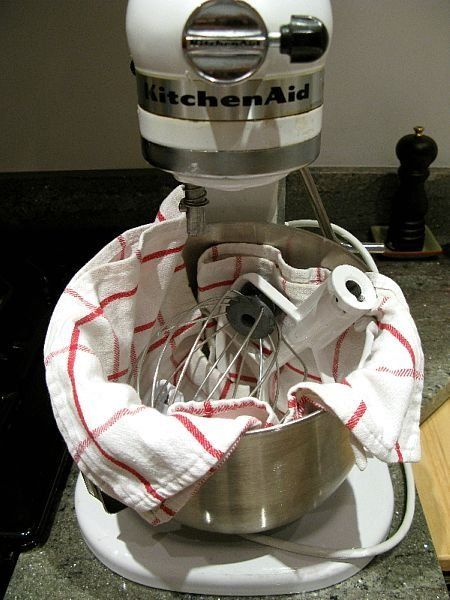Tip: Store Your Standing Mixer Attachments in the Bowl