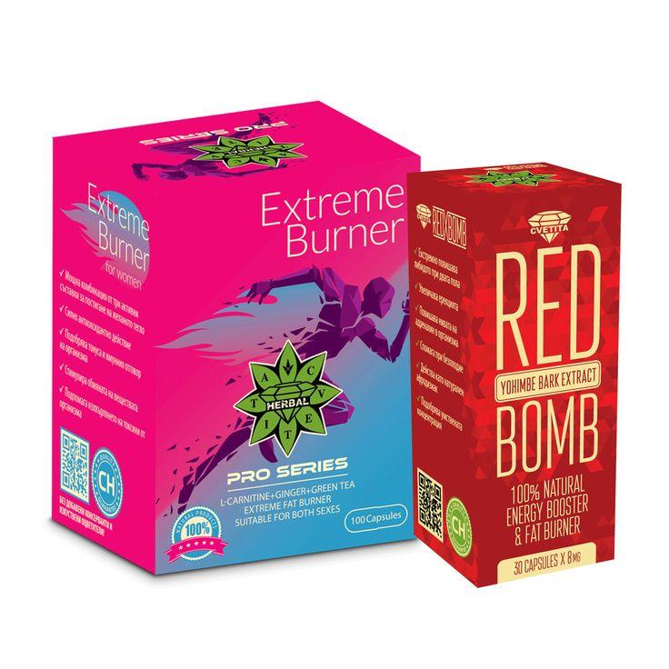 Fat Burner Bundle L Carnitine Green Tea Ginger Yohimbe Bark Diet