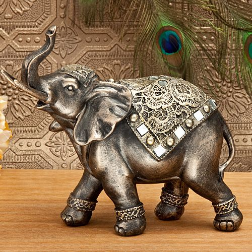 "Elephant 8 1/2"" Statue #Elephant #ElephantStatue"