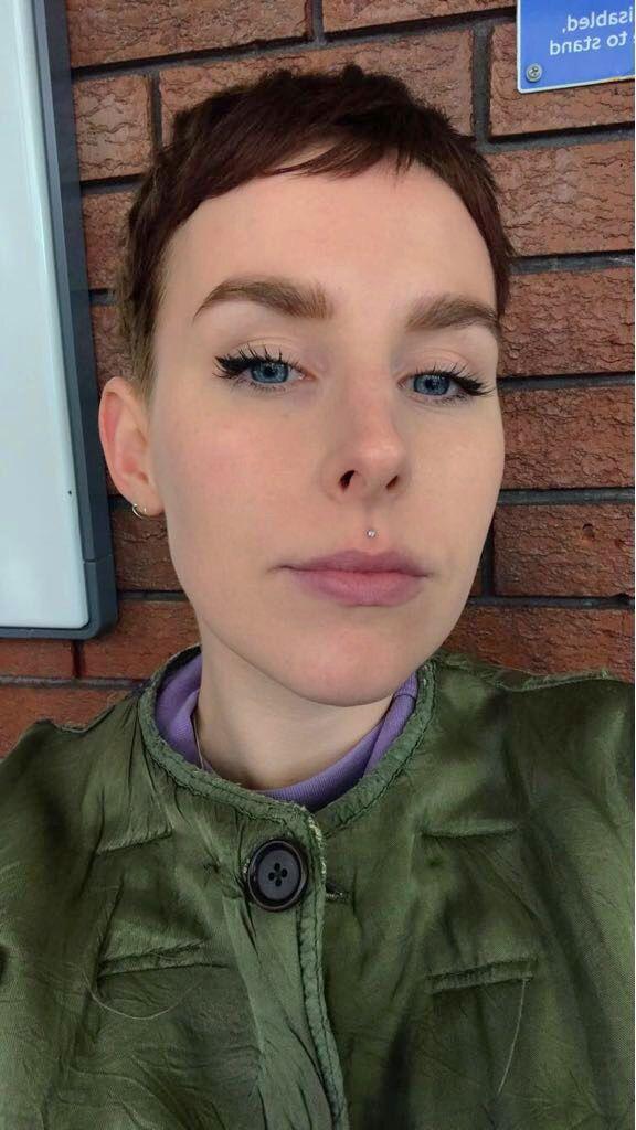 Small Clear Gem Medusa Piercing Dimple Piercing In 2019 Medusa