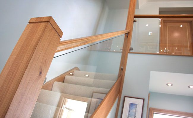 modern oak staircase - Google Search