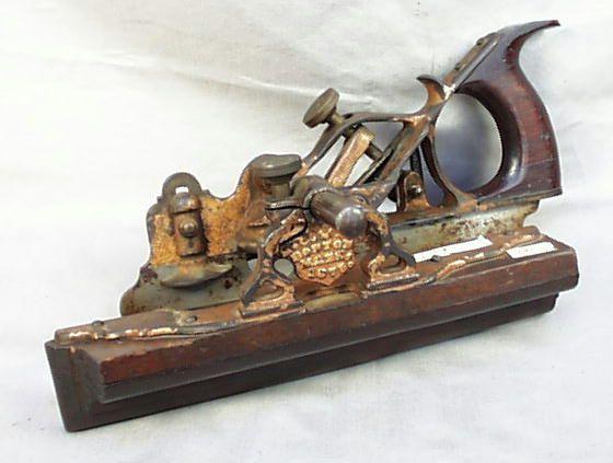 Beautiful Old Victorian Era Woodworking Plow Plane Beautiful Tools