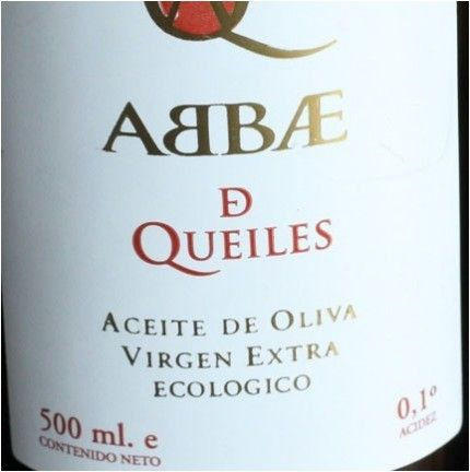 Aceite de oliva virgen extra // Extra virgin olive oil: Abbae de Queiles