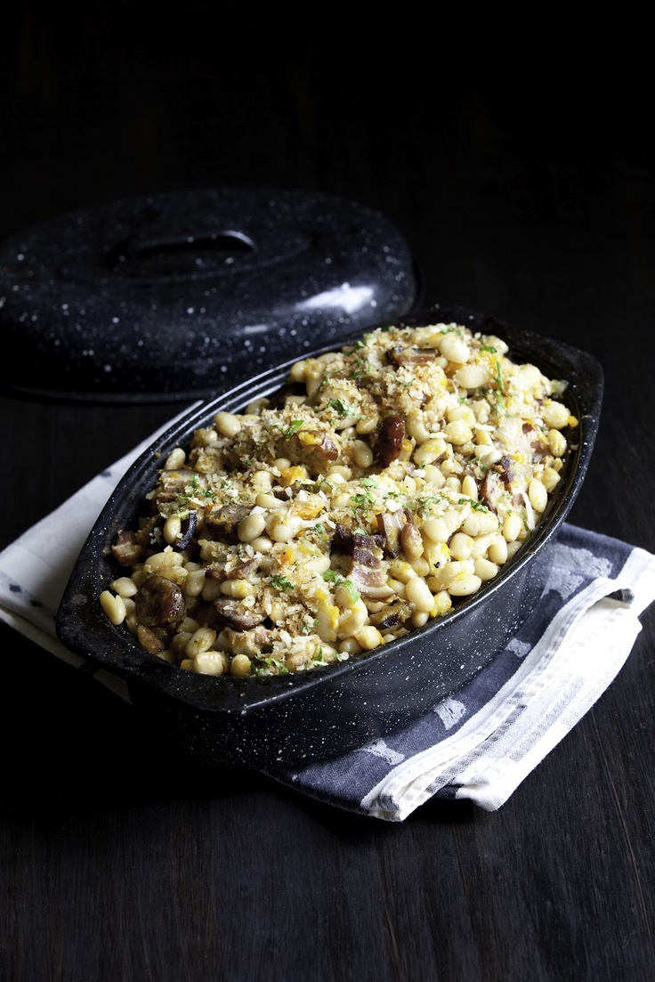 Cassoulet - this recipe is pinned in honour of Jeremy Schmid who came third in his category (best single subject) in the recent Gourmand World Cookbook Awards 2012 in Paris, for his book Bangers to Bacon