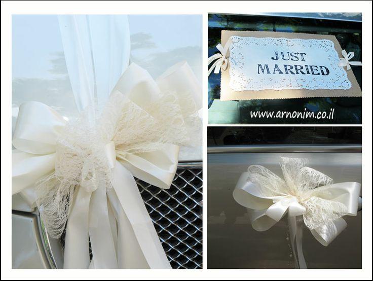 ערכת קישוט רכב wedding car decoration kit