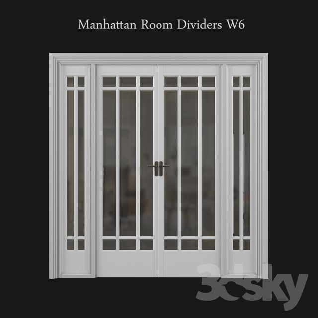 Manhattan Room Dividers W6