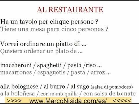 Curso de Italiano Gratis 4 Aprender Italiano Online