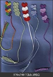 Crochet Heart Bookmarks - Tutorial