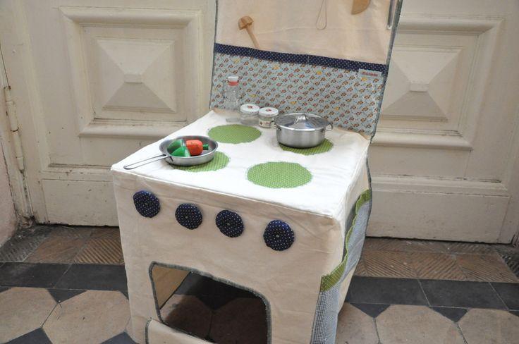 Kaufmannsladen & Küche - Kinderküche - ein Designerstück von Milchraeuber bei DaWanda - chair kitchen
