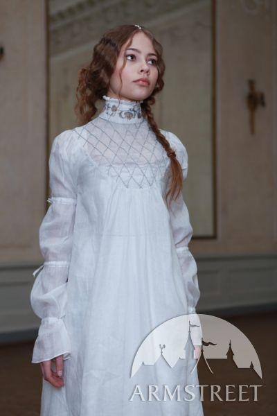 Renaissance Chemise Unterhemd aus Leinen                                                                                                                                                                                 Mehr