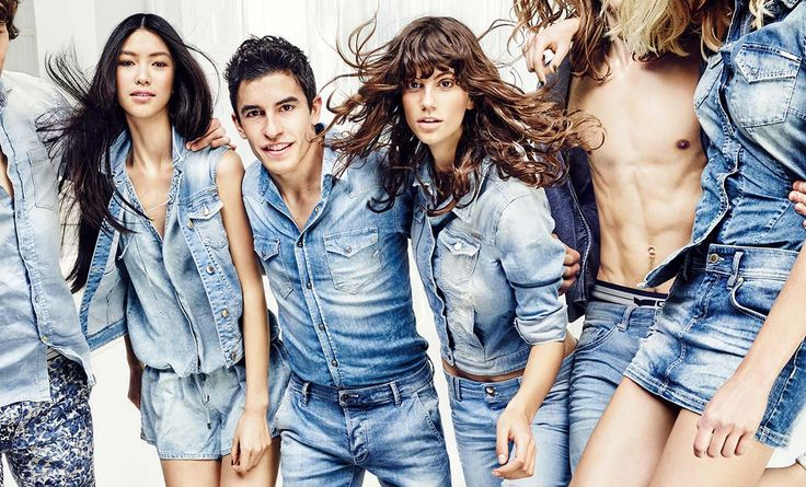 new collection - a denim love affair / with #marcmarquez