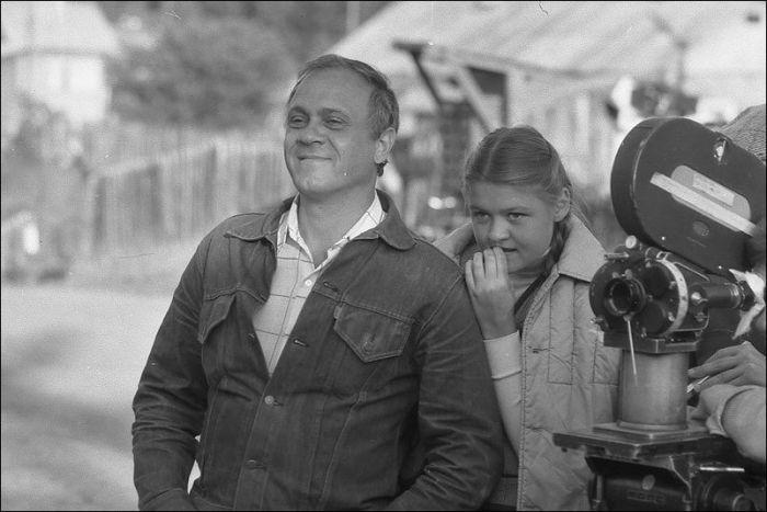 [25] Уникальные кадры со съемочных площадок известных советских фильмов (41 фото)