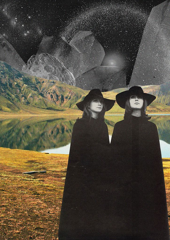collages by collage artist and musician Mariano Peccinetti alias Trasvorder from Mendoza, Argentina.https://www.facebook.com/CollagealInfinito