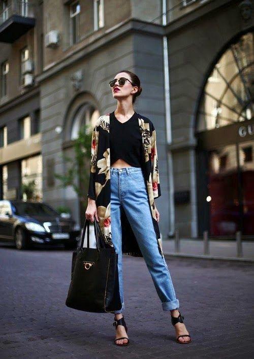Gardrop Kedisi: Yüksek bel pantolon nasıl giyilir?