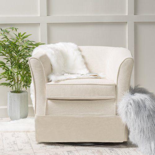 Found It At Joss U0026 Main   Crooks Barrel Chair. Swivel Barrel ChairSwivel  Club ChairsWhite Living RoomsLiving Room ...