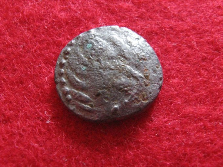 Celtic coins Silver Rare coins Panonijan tribe- 14mm