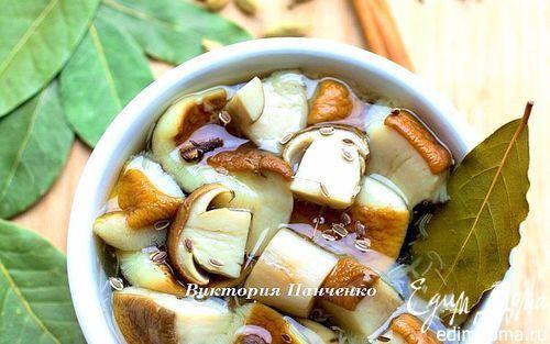 Маринованные белые грибы | Кулинарные рецепты от «Едим дома!»