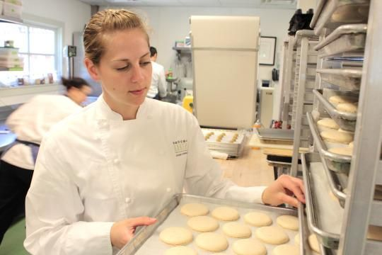 Yahoo Food talks with Bouchon Bakery Pastry Chef Janine Weismann about how she got her start, and how she keeps a bakery running 24 hours a day, 7 days a week.