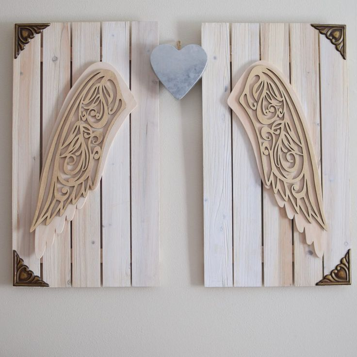 Best 25 Wooden Angel Wings Ideas On Pinterest Angel