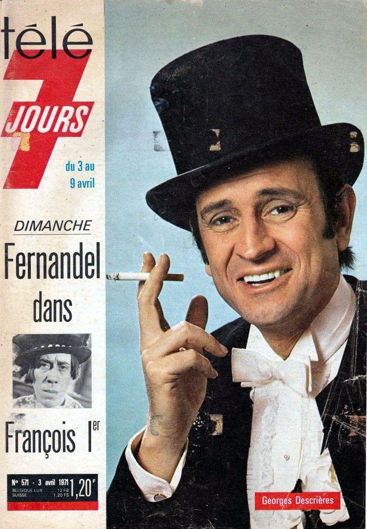 Arsène Lupin / Georges Descrières.1971 - J'étais absolument complètement amoureuse de GD.