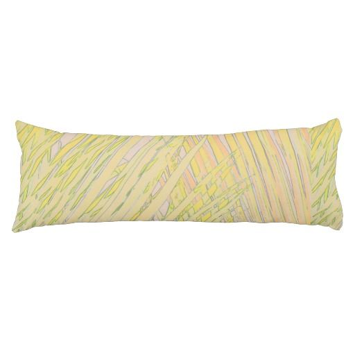 Tranquil Green Palms Pillow