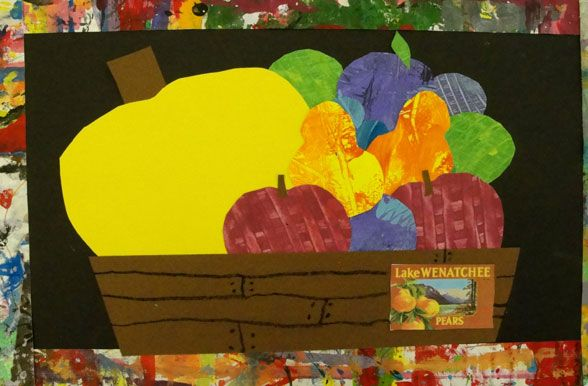 Fruit Basket Art And Craft : Best images about second grade art lessons on