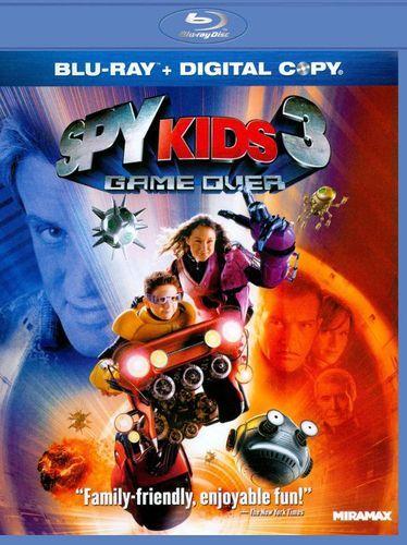Spy Kids 3: Game Over [Includes Digital Copy] [Blu-ray] [2003]