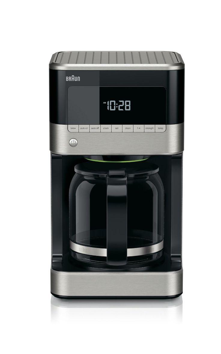 Braun KF7150BK Brew Sense Drip Coffee Maker | Technology | Pinterest | Drip coffee  maker, Drip coffee and Coffee maker