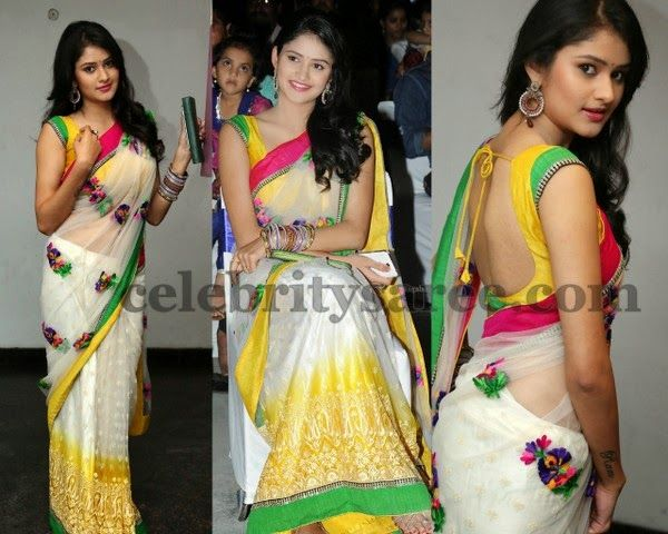 Kushi Georgette Saree | Saree Blouse Patterns