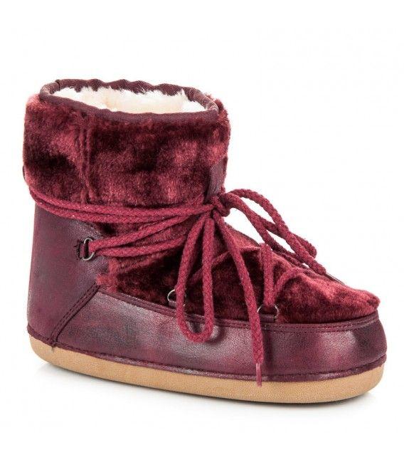 Snehule burgundy HW-9501BOR