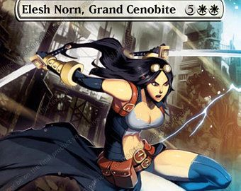 Elesh Norn, Grand Cenobite - For Magic Casual Play Only - MTG Altered Art  Custom