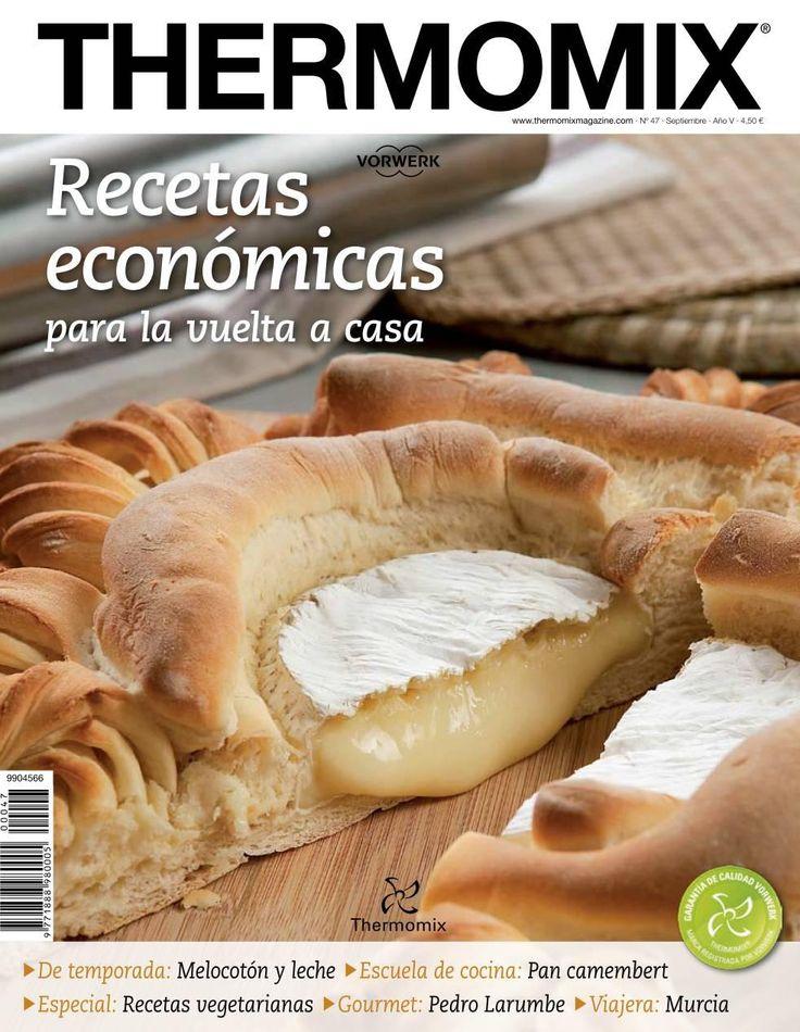 Revista thermomix nº47 recetas económicas, para la vuelta a casa