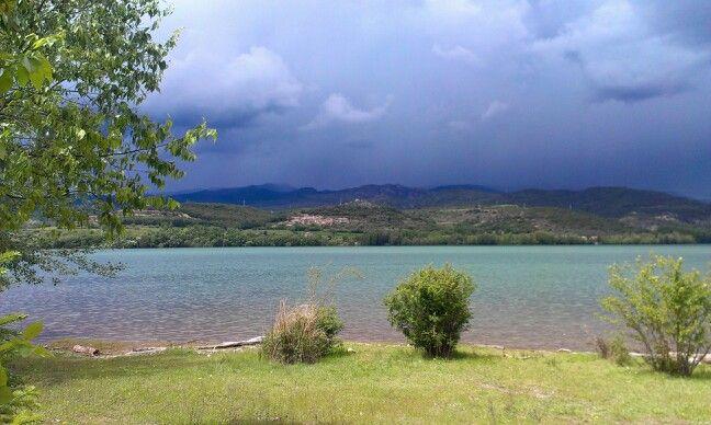 Pantano de San Antonio en el Pallars Jussa