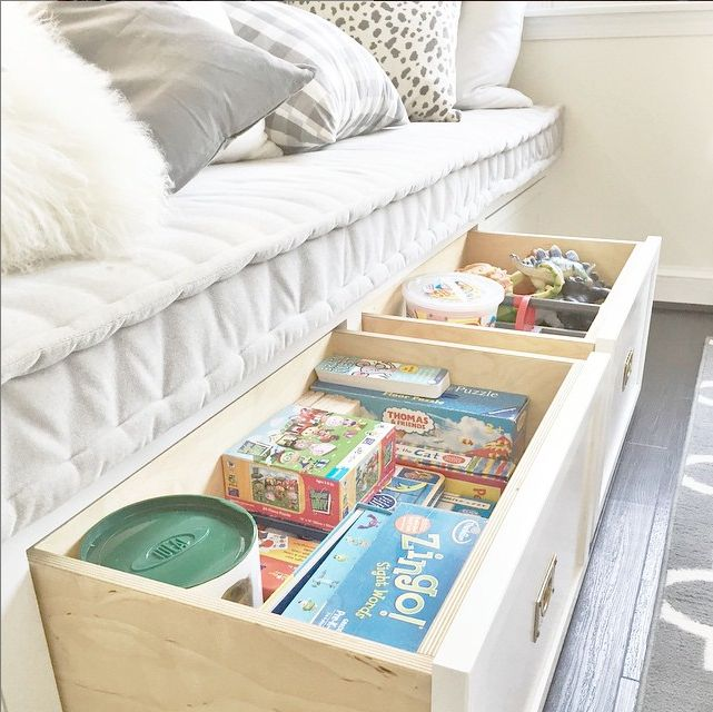 Creative Kid Rooms - Great under the bed toy storage - @ifalc: