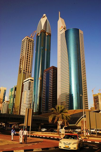 Dubai is home to some amazingly built skyscrapers.