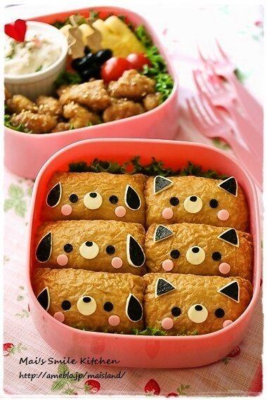 Cat and dog bento| Mai's smile * Kitchen
