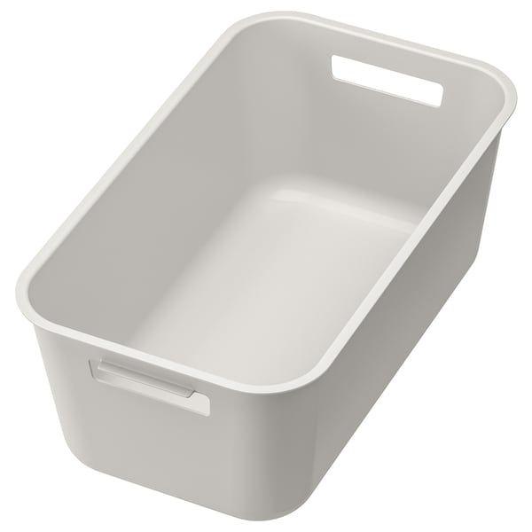GRUNDVATTNET Recipiente limpieza, gris IKEA in 2020