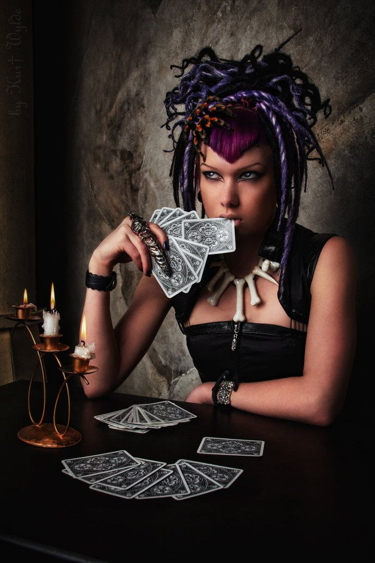 Dark Fortune Teller I By Int0XiKate On DeviantART