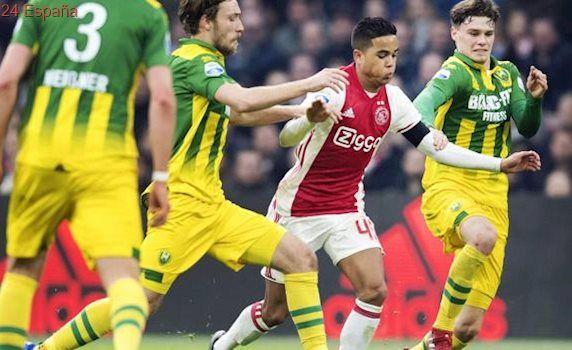 El hijo de Patrick Kluivert asombra en el Ajax