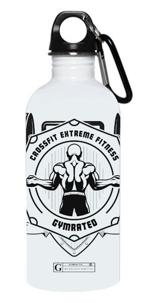 "awesome ""Crossfit Extreme Fitness"" Stainless Steel Water Bottle...by http://dezdemoonfitnes.gdn"